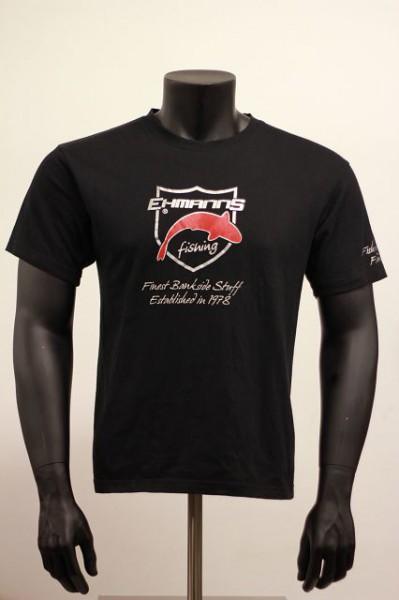 EHMANNS fishing - T-Shirt - Beflockt