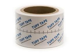 TUFF Tape 10m Rolle durchsichtig, matt